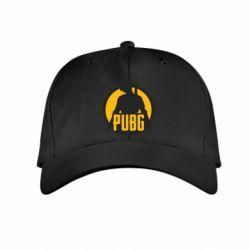 Детская кепка PUBG logo and game hero