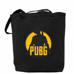 Сумка PUBG logo and game hero