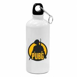 Фляга PUBG logo and game hero