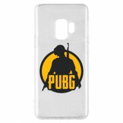 Чехол для Samsung S9 PUBG logo and game hero
