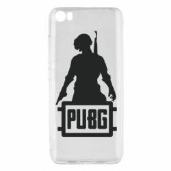 Чехол для Xiaomi Mi5/Mi5 Pro PUBG logo and hero
