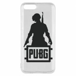 Чехол для Xiaomi Mi6 PUBG logo and hero