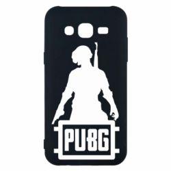 Чехол для Samsung J5 2015 PUBG logo and hero