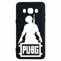 Чехол для Samsung J5 2016 PUBG logo and hero