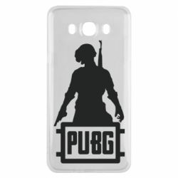 Чехол для Samsung J7 2016 PUBG logo and hero