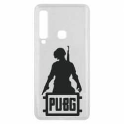 Чехол для Samsung A9 2018 PUBG logo and hero