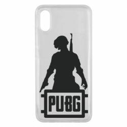Чехол для Xiaomi Mi8 Pro PUBG logo and hero