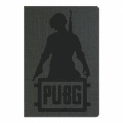 Блокнот А5 PUBG logo and hero
