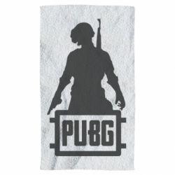 Полотенце PUBG logo and hero