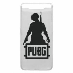 Чехол для Samsung A80 PUBG logo and hero