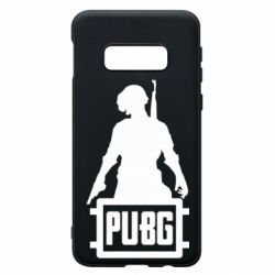 Чехол для Samsung S10e PUBG logo and hero