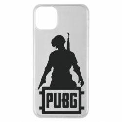 Чехол для iPhone 11 Pro Max PUBG logo and hero