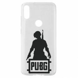 Чехол для Xiaomi Mi Play PUBG logo and hero