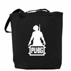 Сумка PUBG logo and hero