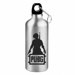 Фляга PUBG logo and hero
