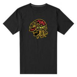 Чоловіча стрейчева футболка Pubg skull