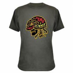 Камуфляжна футболка Pubg skull