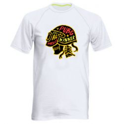 Чоловіча спортивна футболка Pubg skull
