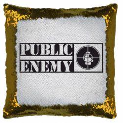 Подушка-хамелеон Public Enemy