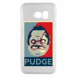 Чехол для Samsung S6 EDGE Pudge aka Obey
