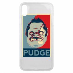 Чехол для iPhone Xs Max Pudge aka Obey