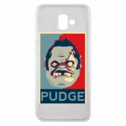 Чехол для Samsung J6 Plus 2018 Pudge aka Obey