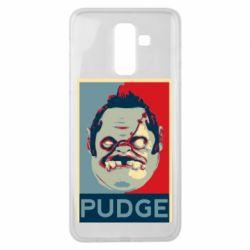 Чехол для Samsung J8 2018 Pudge aka Obey