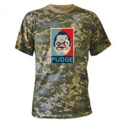 Камуфляжная футболка Pudge aka Obey - FatLine