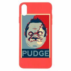 Чехол для iPhone X/Xs Pudge aka Obey