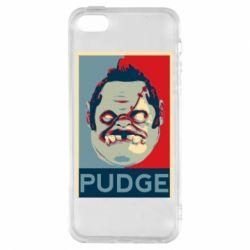 Чехол для iPhone5/5S/SE Pudge aka Obey
