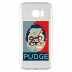 Чехол для Samsung S7 EDGE Pudge aka Obey