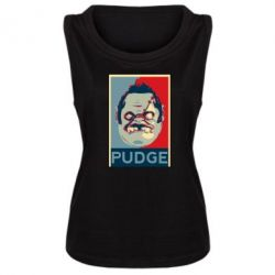 Женская майка Pudge aka Obey - FatLine