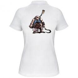 Женская футболка поло Pudge Art - FatLine