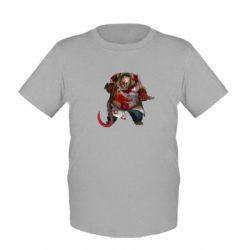 Детская футболка Pudge Dota 2 - FatLine