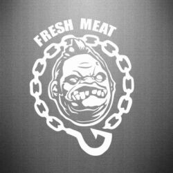 Наклейка Pudge Fresh Meat - FatLine