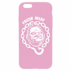 Чехол для iPhone 6/6S Pudge Fresh Meat