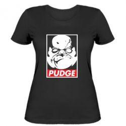 Женская футболка Pudge Obey