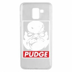 Чехол для Samsung J6 Pudge Obey