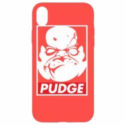 Чохол для iPhone XR Pudge Obey
