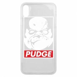 Чехол для iPhone Xs Max Pudge Obey