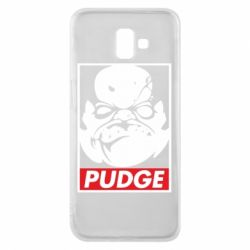 Чехол для Samsung J6 Plus 2018 Pudge Obey