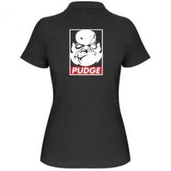 Женская футболка поло Pudge Obey - FatLine