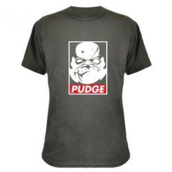 Камуфляжная футболка Pudge Obey - FatLine
