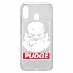 Чехол для Samsung A20 Pudge Obey