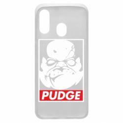 Чехол для Samsung A40 Pudge Obey