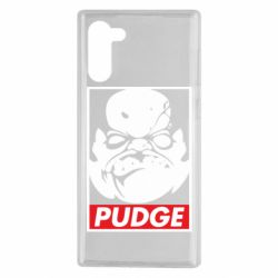 Чехол для Samsung Note 10 Pudge Obey
