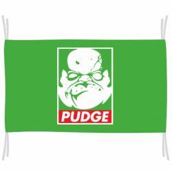 Флаг Pudge Obey