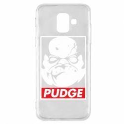 Чехол для Samsung A6 2018 Pudge Obey