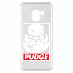 Чохол для Samsung A8 2018 Pudge Obey