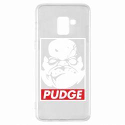 Чехол для Samsung A8+ 2018 Pudge Obey